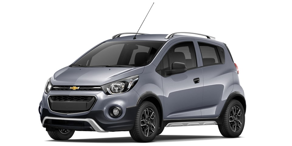 Chevrolet Beat Hatchback 2020 en color gris acero